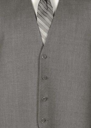 Grey Valencia Suit Vest