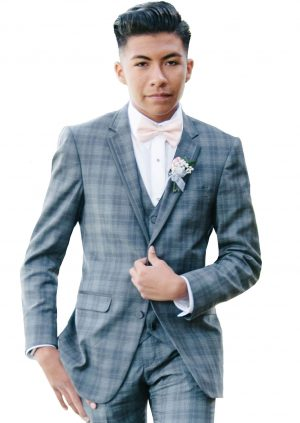 Grey-Plaid-Tuxedo