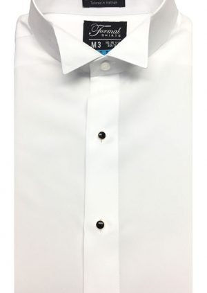 White-Fitted-Micro-Wing-Collar-Shirt